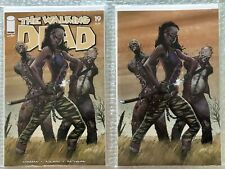 THE WALKING DEAD #19 J. SCOTT CAMPBELL 15TH ANNIVERSARY VARIANT COVER SET VF-NM