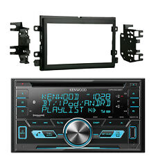 Kenwood DPX503BT Bluetooth USB Double Din Car Radio, 2004-UP Ford Installation