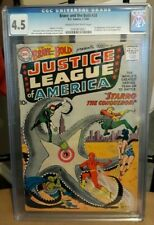 Brave and the Bold #28 CGC 4.5 1960 DC 1st Justice League of America! H3 121 cm