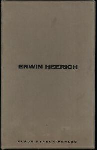 Erwin Heerich: Architekturausschnitte. 25 Sign. Original-Zinkografien.