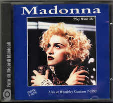 MADONNA - PLAY WITH ME LIVE AT WEMBLEY STADIUM 7-1990 **RARO** ITALY 1994