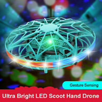 Flying UFO LED Ball Mini Induction Suspension RC Aircraft Drone Helicopter Toys