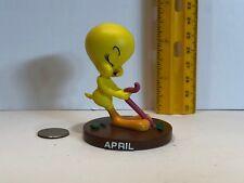 Danbury Mint Goebel April Tweety Bird Perpetual Calendar Figurine 2000