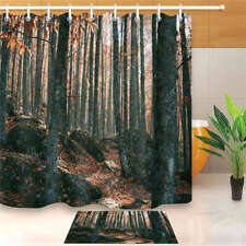 Cover Dead Waterproof Bathroom Polyester Shower Curtain Liner Water Resistant