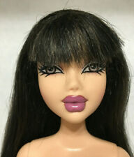Barbie My Scene Tu Estilo Nolee Doll Raven Straight Hair Bangs Rare