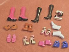 Barbie doll and friends accessories 11 pairs of shoes