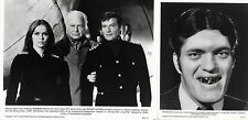 THE SPY WHO LOVED ME -JAMES BOND- TWO RARE AMERICAN BLACK AND WHITE MOVIE STILLS