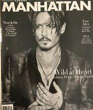 Johnny Depp wild at heart Manhattan magazine cover New York City new
