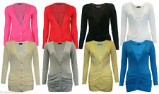 Viscose Patternless Petite Jumpers & Cardigans for Women