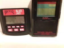 Caesars Palace Video Poker & Bicycle BJ Handheld (Tiger Electronics, 1993&1994)