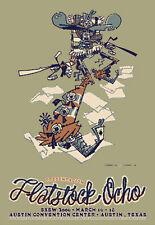 Guy Burwell  Flatstock 8 Poster Show  SXSW 2006  Mondo  Signed & #ed  LE Print
