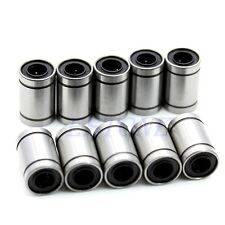 10pcs LM8UU 8mm Linear Bush Ball Bearing Bushing For Reprap Prusa 3D Printer