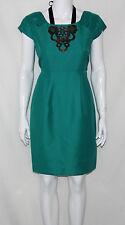 M60 Miss Sixty NEW Cap Sleeve Jeweled Applique Front Dress REG 10