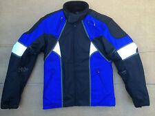 """FRANK THOMAS Mens Textile Motorbike / Motorcycle Jacket UK 36"""" Chest (H1)"""