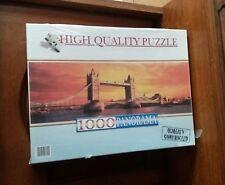 PUZZLE CLEMENTONI tower bridge london panorama 1000 pièces NEUF