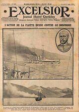 Cruisers Imperial Russian Navy Black Sea & Bosphorus Admiral Eberhard WWI 1915