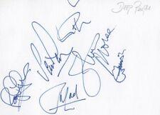 Deep Purple (Jon Lord) Autogramme signed 10x15 cm Karteikarte