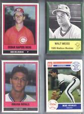 1986 TCMA OMAHA ROYALS SET - Dave CONE, Kevin SEITZER - LAST1