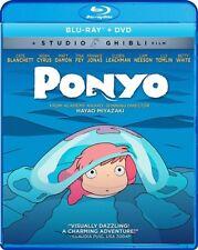 PONYO New Sealed Blu-ray + DVD Studio Ghibli