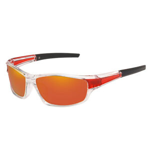 Polarized Sports , Men Women Unbreakable Frame Cycling Goggles for Running