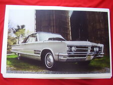 1966 CHRYSLER 300 CONVERTIBLE   11 X 17  PHOTO /  PICTURE