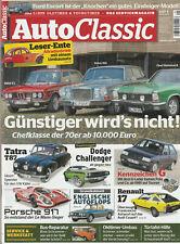 Auto Classic 05/2019 : Chefklasse der 70er - BMW E3 , Volvo 164 , Diplomat B