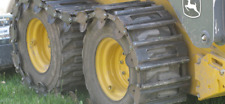 New Over The Tire Steel 10 Skid Steer Track For Bobcat Case Deere Amp More