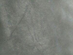 Pre- Cut Italian lamb Nubuck Black hide Soft leather skin, 1.5 oz. 0.6 mm.