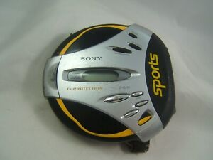 Sony Sports Walkman D-SJ15 G Protection Portable CD Player Tested Working