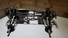 HPI Savage Flux HP w/Aluminum 1/8 Monster Truck Roller/Slider 4 Parts or Repair