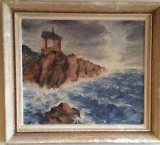 Antique Origin Russian Oil On Canvas Painting Signed Grigoriy Kapustin 1865-1925