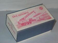 (Boite Copie Dinky Toys) 571 Grue Coles (notice comprise)