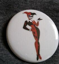 "Harley Quinn Animated Batman Comic Pinback Button Badge 2.25"" inch NEW"