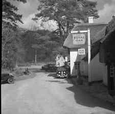 6x6 Negative Wisborough Green West Sussex Royal Oak Inn 1951 +Copyright  Y368