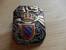 Medaille Militaria insigne pucelle 25° régiment de dragons Royal Bourgogne