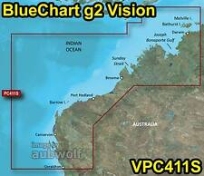 Garmin BlueChart g2 Vision VPC411S Geraldton to Darwin