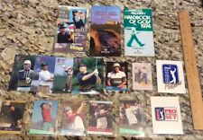 Arnold Palmer, 1995 Pga Tour, British Open Guides. Pro Set Promo Cards. Lot.