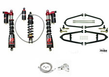 Alba +2 Long Travel A-Arms Elka Legacy Plus Rebound Front Rear Shocks Kit TRX450