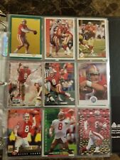 Huge Steve Young San Francisco 49ers cards/inserts headliner, RARE Sports Pages
