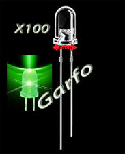 100X Diodo LED 5x9 mm Verde 2 Pin alta luminosidad