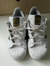 Adidas Superstar White and black Trainers Children's Size 1.5
