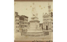 DANTES, VINTAGE STEREOVIEW FLORENCE, ITALY