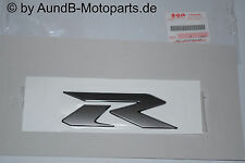 """GSXR 1000 K8-L4 Emblem """"R"""" 3D Seitenverkleidung / Side Fairing original Suzuki"""