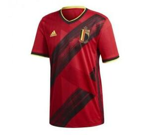 Belgium Home Shirt 2020/21 Euro Jersey S - 4XL Shirt DE BRUYNE #7 LUKAKU #9