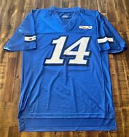 Tony Stewart #14 NASCAR Mens Large Size Stewart-Haas Blue NASCAR Jersey