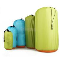 ULTRA LIGHT WATERPROOF DRY STUFF SACK Drawstring STORAGE Bag Assorted Size/Color