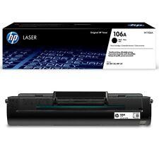 TONER ORIGINALE NERO HP 106A W1106A Laser MFP 137fwg Laser 107w Laser MFP 135wg
