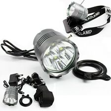 CREE XML 4x T6 LED 5200Lm Bicycle Bike Light HeadLight headLamp Torch+Battery UK