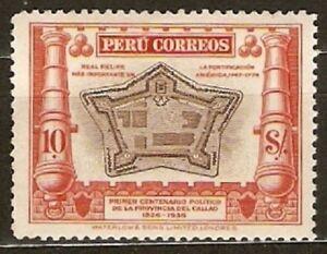 Peru Sc 351 mint hr  FVF