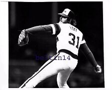 LaMarr Hoyt 1982 White Sox Comiskey Park UPI Wire Photo